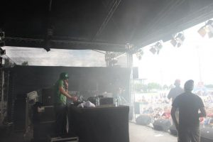 DJ MG x Ghostwriters High @ Oben Ohne Open Air 2012 – Messe München